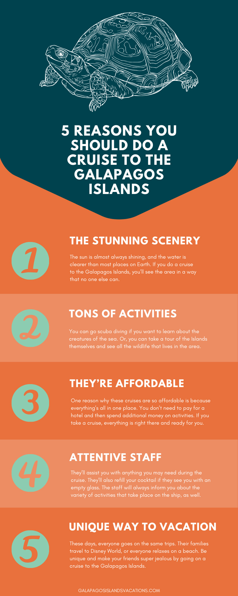 5 Reasons You Should Do a Cruise to the Galapagos Islands